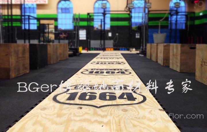 锁扣地板铺装厂房地板重型区
