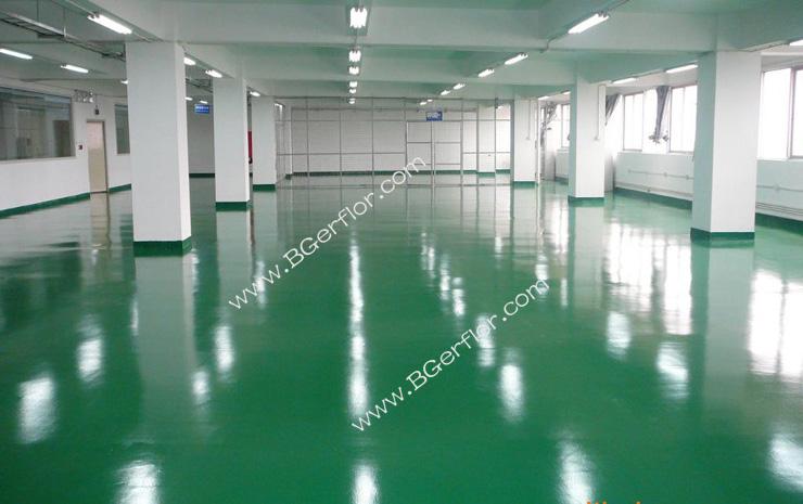 厂房旧地面翻新,有哪些防尘耐磨地板做法