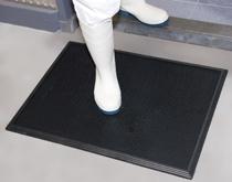食品厂鞋底消毒 进入加工车间鞋底清洗消毒垫