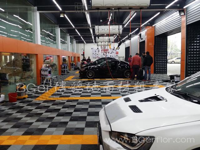汽车4S保养店地面地板