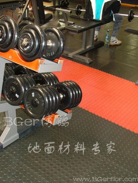 健身房用片材胶地板材料