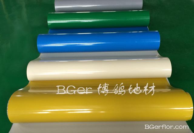 高分子材料彩色工业地板  地坪处理地面材料-2