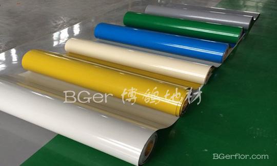 高分子材料彩色工业地板  地坪处理地面材料-3