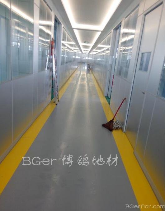 工厂办公楼区地板
