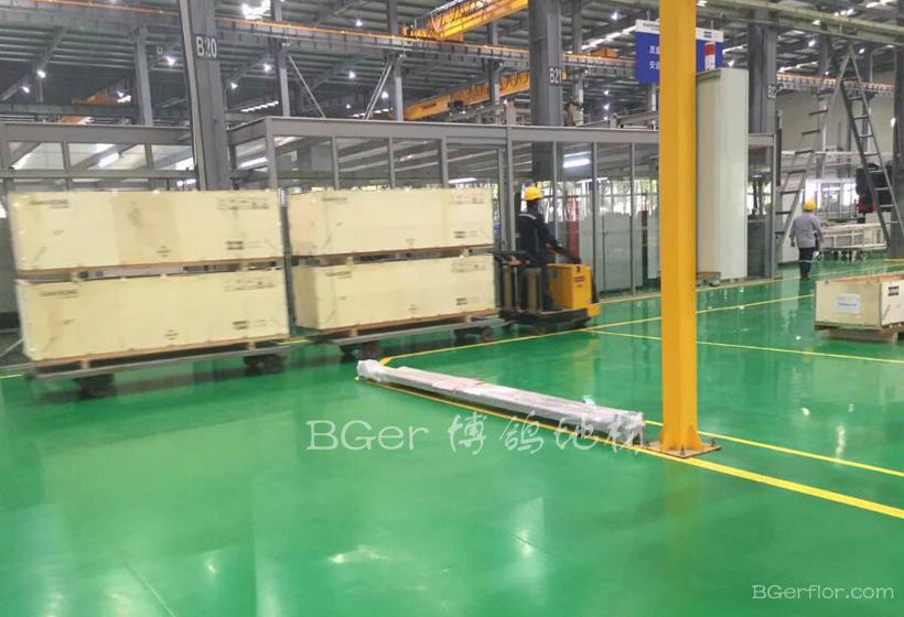 制造工业车间地板地坪处理-5