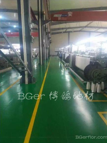 工业车间耐磨地板