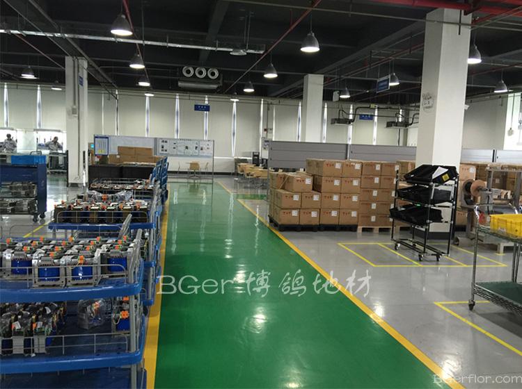 生产流水线洁净车间耐磨地板-4