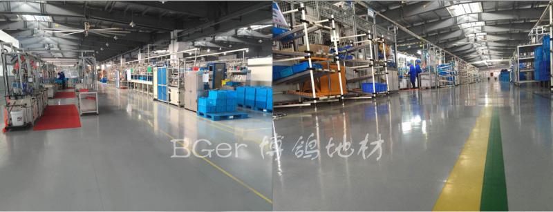 机加工厂房地板-3