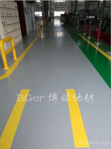 工业厂房车间地板地面材料-3