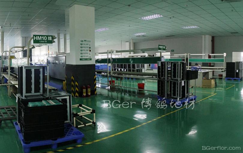 电器工厂厂房地板