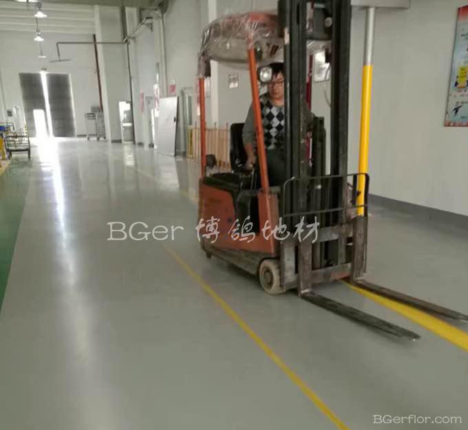 耐磨耐压走叉车工业地板地面材料-3