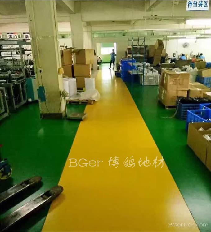 耐磨耐压走叉车工业地板地面材料-4