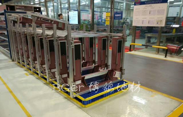 重工业车间地面货物垫板 金属制品垫板 防护千亿国际娱乐|娱乐领导者 货物搬运托盘-4