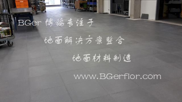 灰色仓库地板
