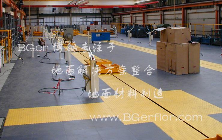 厂房地面塑胶地板砖材料