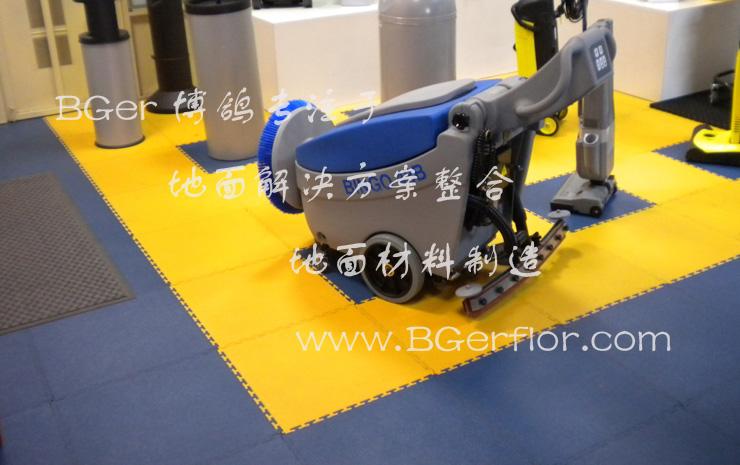 产品展示台地面装饰材料