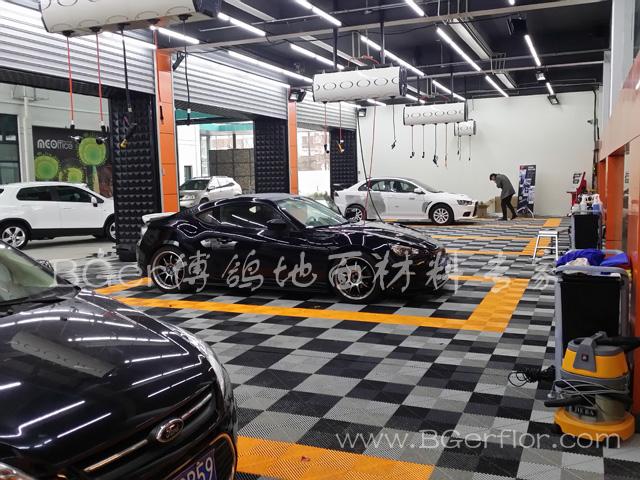 汽车4S店维修车间地面格栅 4S店汽车保养改装车间地板千亿国际娱乐|娱乐领导者