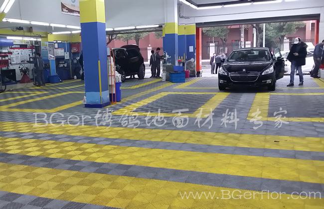 汽车洗车地面格栅网格板 汽车保养维护店地板铺装材料
