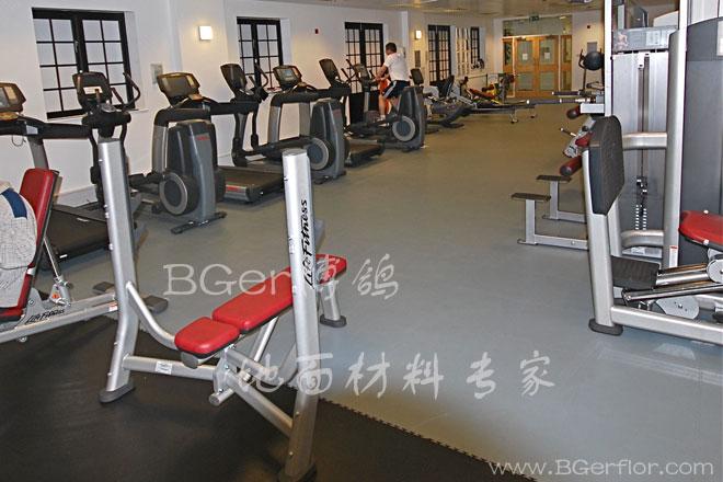 健身房橡胶地板 千亿国际娱乐 娱乐领导者 健身房力量区承重地胶
