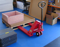 库房仓库走重车地板 走手推液压车地面铺装材料