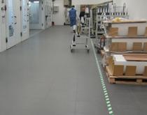 厂房工业地板 灰色 厂房地面用仓库地板材料
